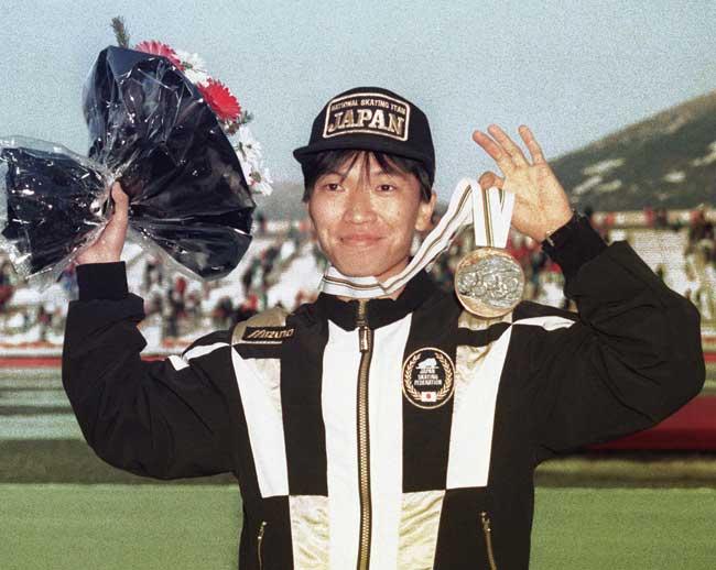 1992年アルベールビル五輪のスピードスケート男子1000メートルで銅メダルを獲得した宮部行範さんが3月7日、東京都内…