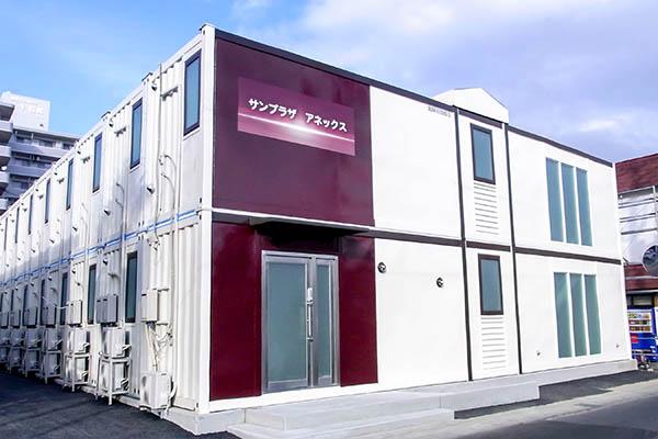 日本首家利用回收集装箱式房屋打造的商务酒店10月末栃木开业