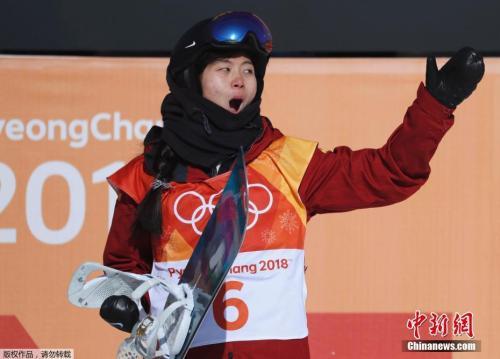 刘佳宇获得了一枚宝贵的银牌。