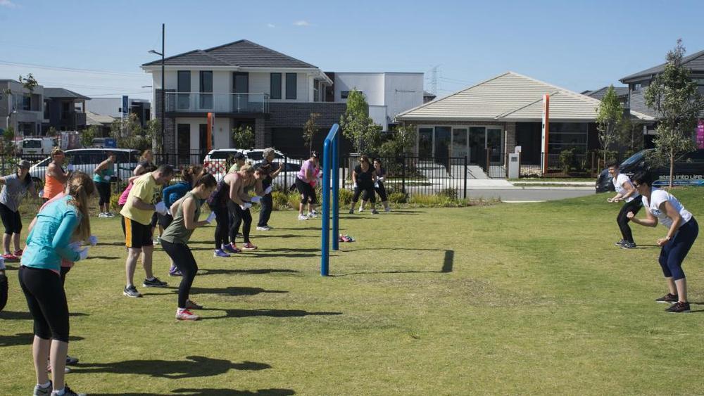 健康社区!悉尼开发商免费开设健身项目