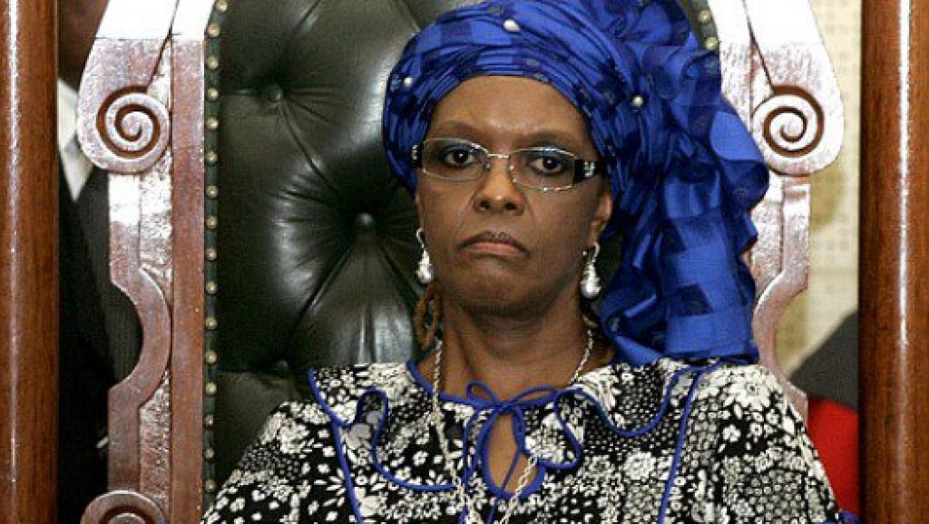 津巴布韦前总统穆加贝的夫人格蕾丝.穆加贝