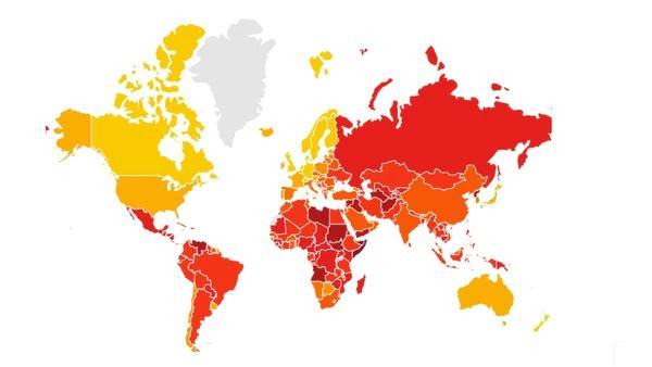 2019年全球清廉度排行榜_美国存在贪污吗 当人掌握权力的时候,是怎么通