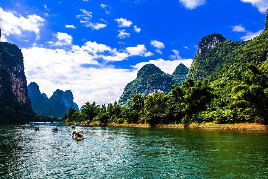 上海到贵阳沿途风景区