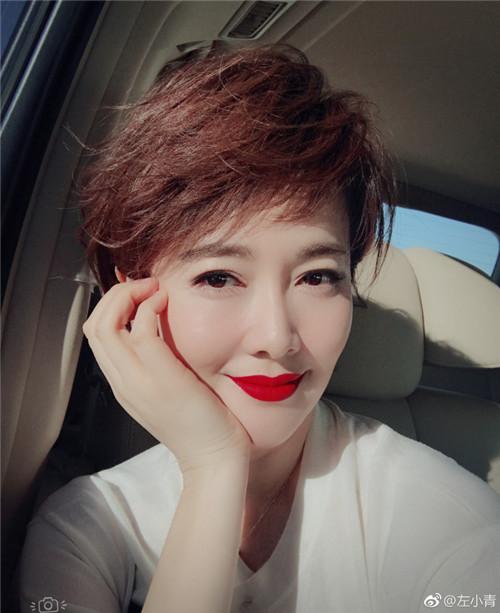 刘诗诗的个性短发是干练女神标配_娱乐_泰国_新闻