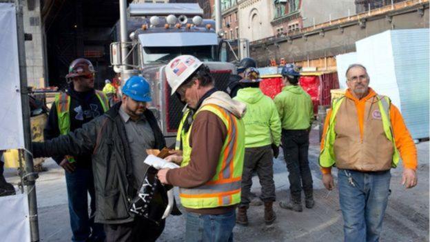 美国建筑工人