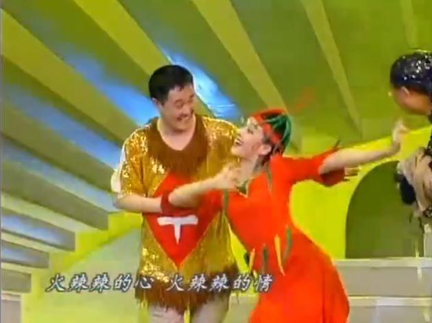97年的《红高粱模特队》让小辣椒火热了全国观众的心.