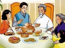中国人餐桌上的常规礼仪<