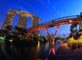 滨海湾金沙空中花园 Marina Bay Sands Singapore<