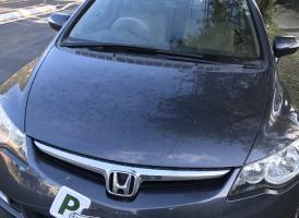 小灰Honda civic仅8wkm超低价售啦<