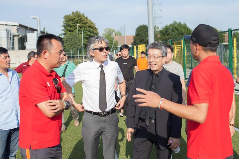 温州市青少年足球代表团到意奇尼塞勒塞足球俱乐部学习交流 ...